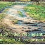 #Gehe deinen Weg und lass dich nicht beeinflussen!