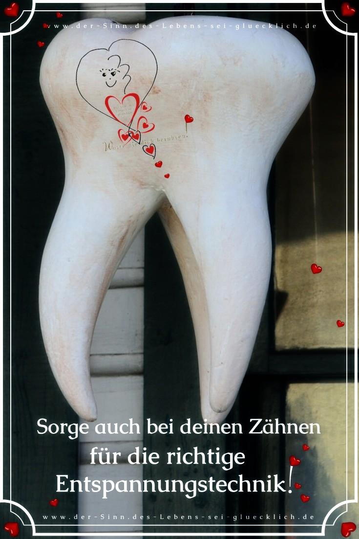 Entspannungstechniken ~ Zähne