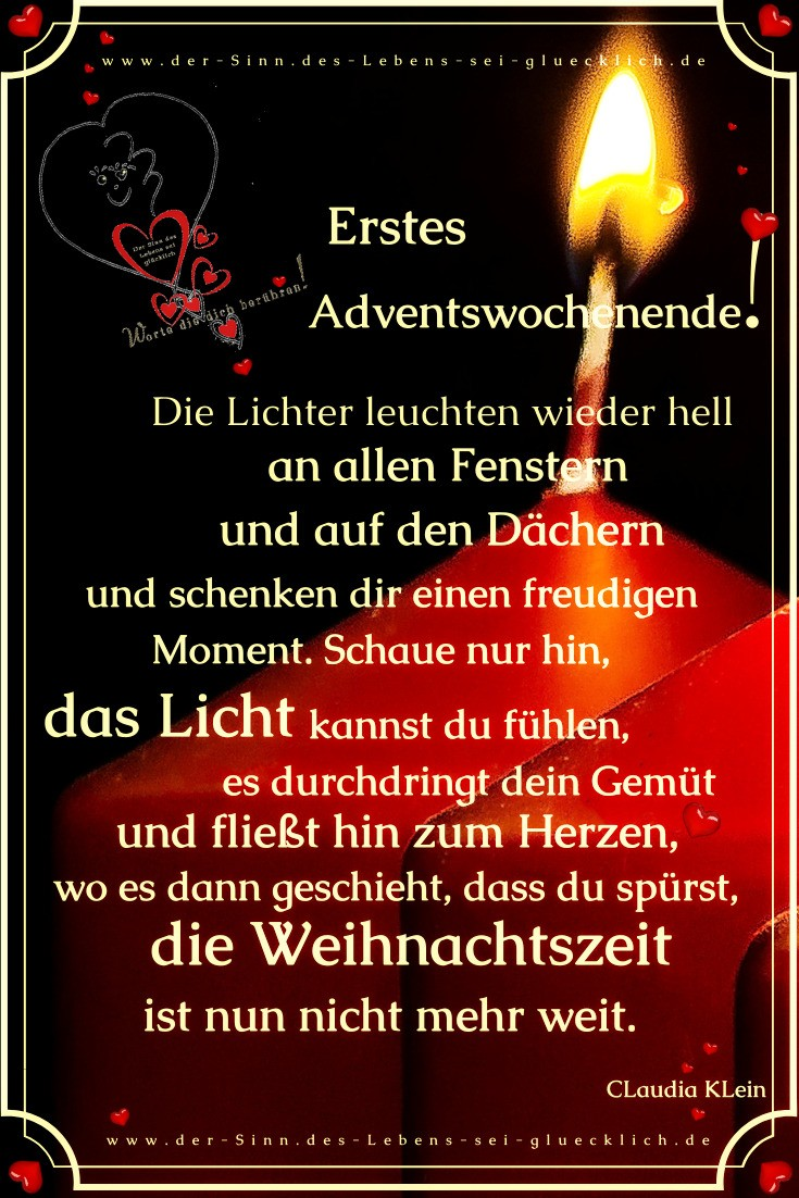 Adventswochenende