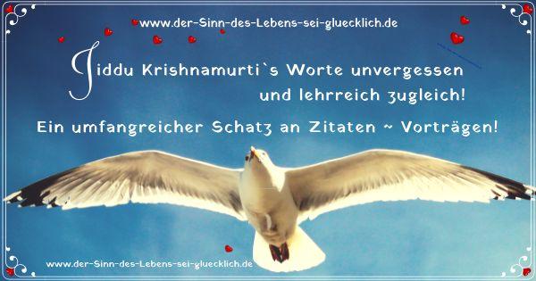 Jiddu Krishnamurti ~ Zitate und Vorträge die das Leben erklären!