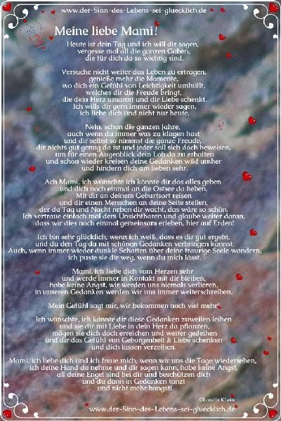 Geschenke Tipps zum Muttertag ~ Gedicht