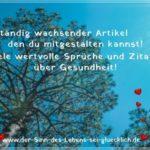 Sprüche Gesundheit   1A magische Sprüche & Zitate mit Bildern!