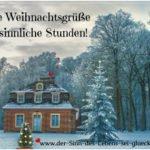 Weihnachtsgrüße ~ Sprüche und Gedichte die das Herz berühren!